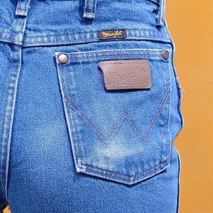 Vintage Shorts - VTG Wrangler cut-offs
